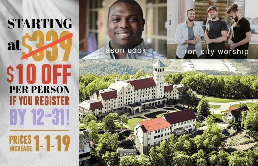 Lookout Mtn., GA | July 6-10, 2019 – FULL! Register for the Wait List!